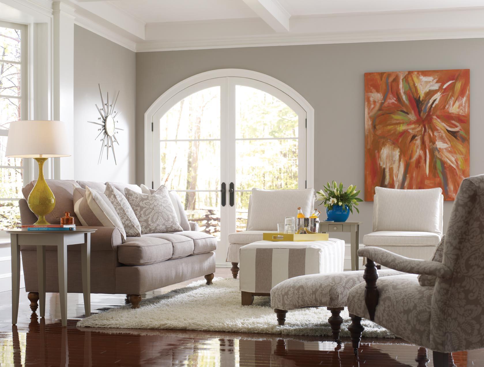 Living & Family Rooms - McQueens Interiors