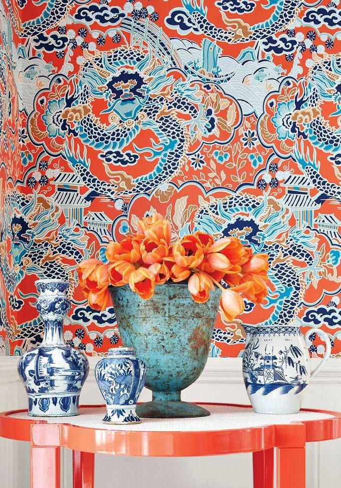 Is Wallpaper Making A Comeback Mcqueens Interiors